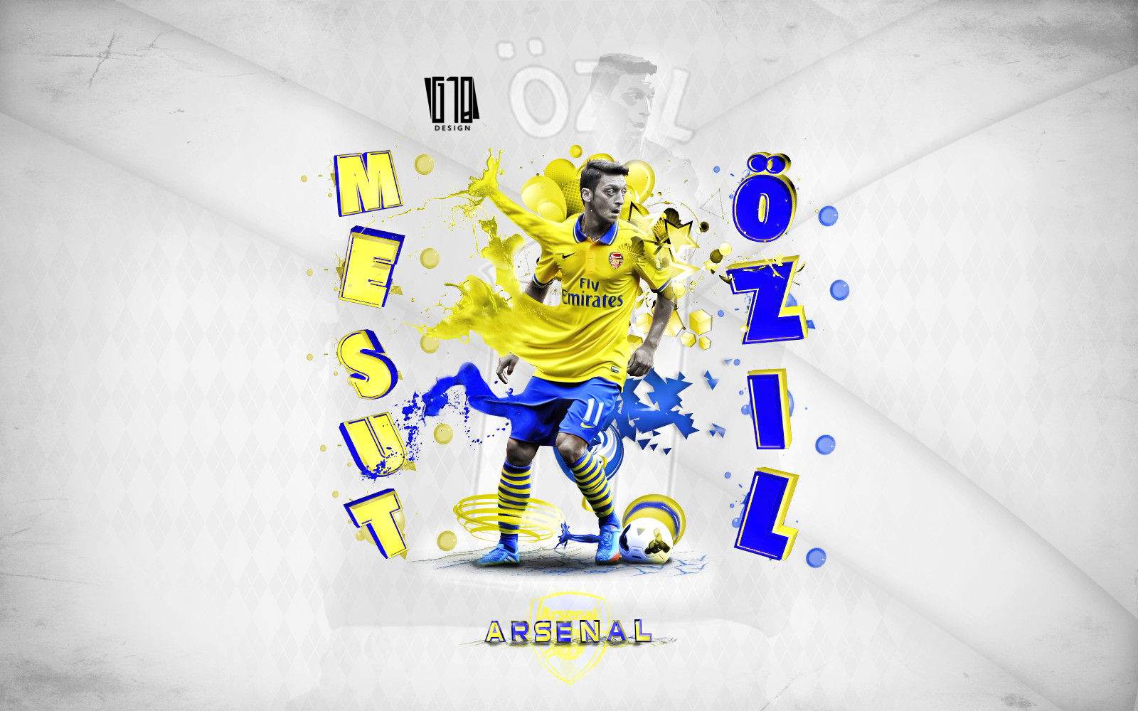Mesut Ozil By Gustabinho10.deviantart.com On @deviantART