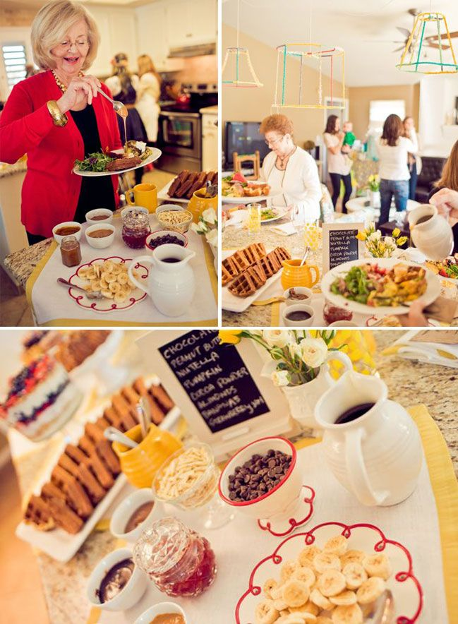 A Waffle Brunch Baby Shower