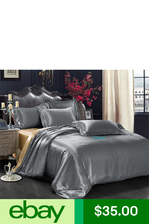 Duvet Covers eBay Home & Garden Satin bedding, Duvet
