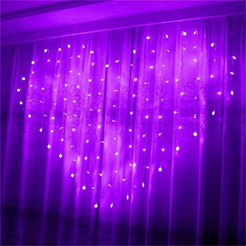 Yeahplus 124 LED 15m x 12m 8 Modes Heart Shape LED Wind All