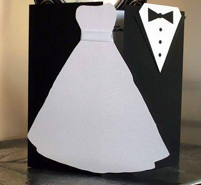 Wedding trifold card