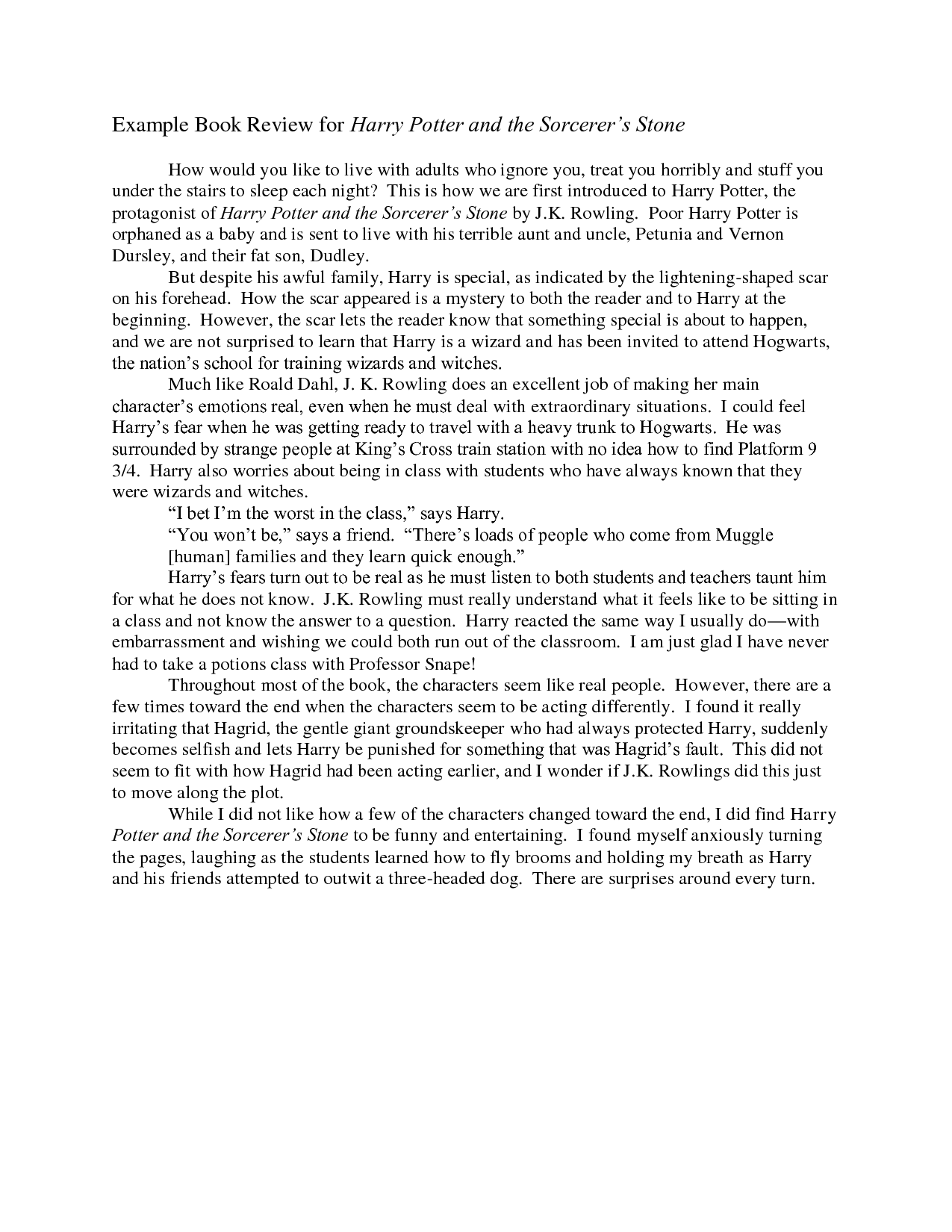 a review of a book A free collection of book reviews published in the new york times since 1981.
