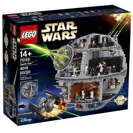 Lego Star Wars Death Star 75159 Toy Building Kit 4016 Pieces Walmart Canada Star Wars Death Star Lego Death Star Lego Star Wars
