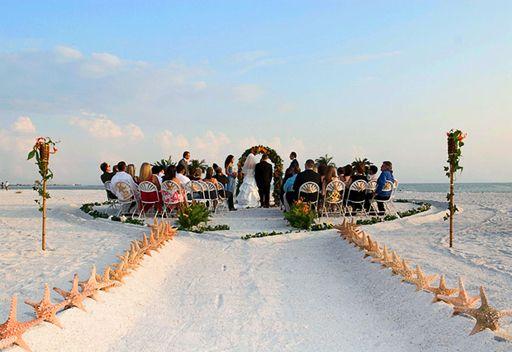 Caladesi Island State Park L Dunedin Florida A Small Intimate Wedding On The Beach
