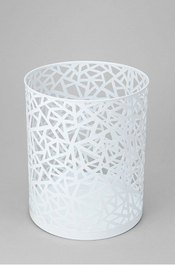 Uo Cutout Trash Can Dorm Room Planning Bedroom Trash Can