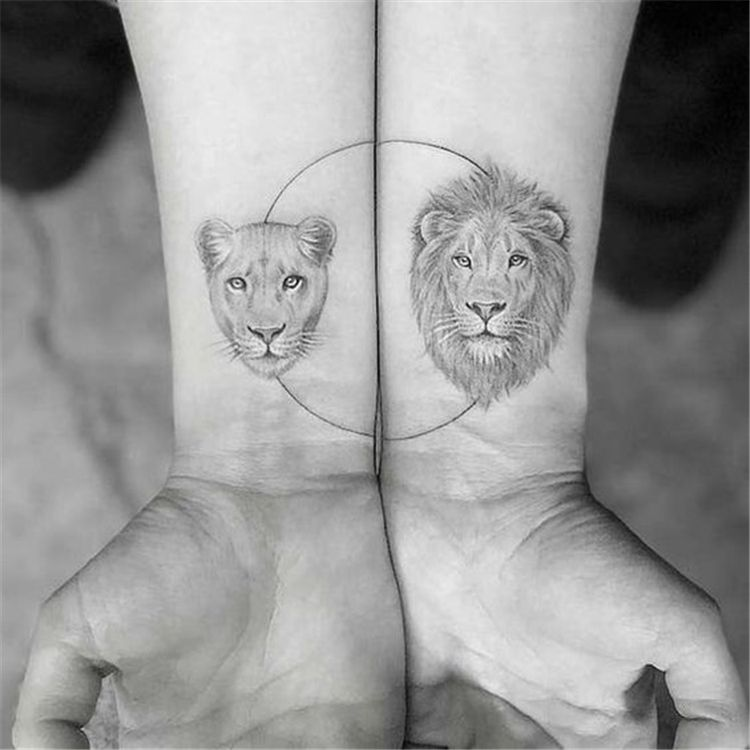 60 Perfect And Forever Couple Matching Tattoos For The Hopeless Romantics - Page 25 of 60 - Chic Hostess