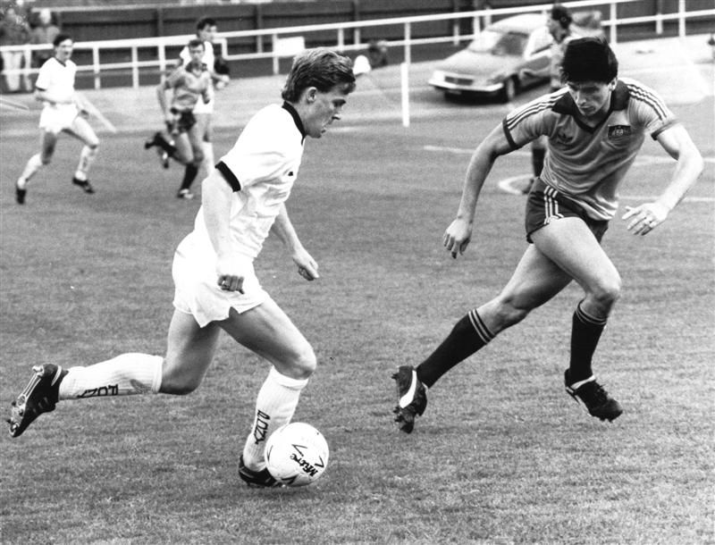 Hayden Meikle counts down the 150 greatest moments in Otago sport. No 127: McGarry scores on All Whites debut (1986)