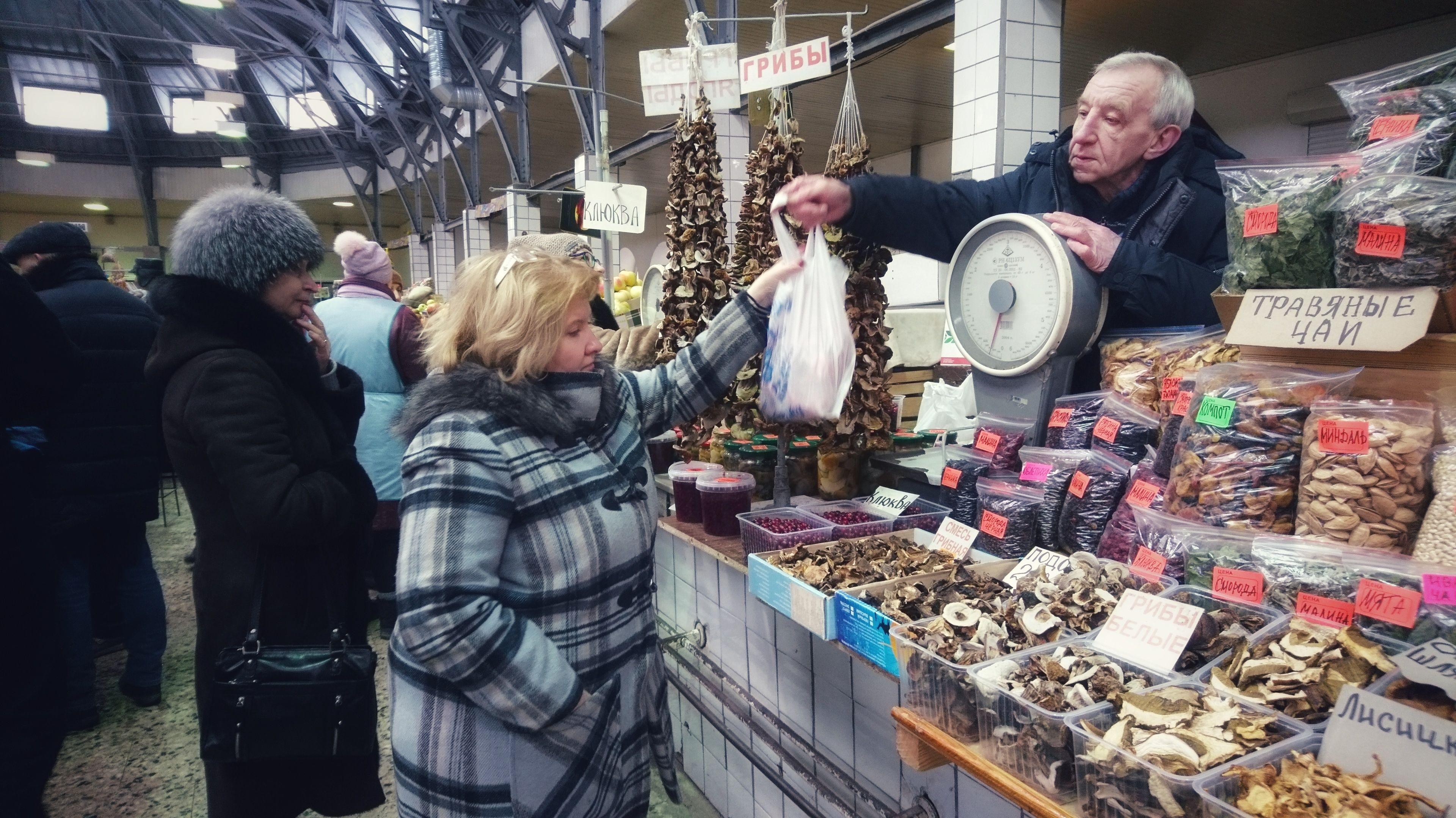 Saint Petersburg Kuznechny Market Sint Petersburg
