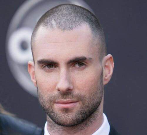 Classic Buzz Haircut For Receding Hairlines With Images