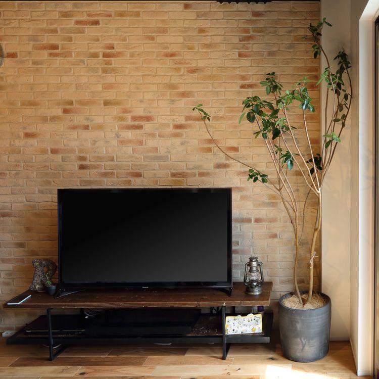 古材テレビボード180センチ 足場板 古材家具ikpイカピー テレビ 周り