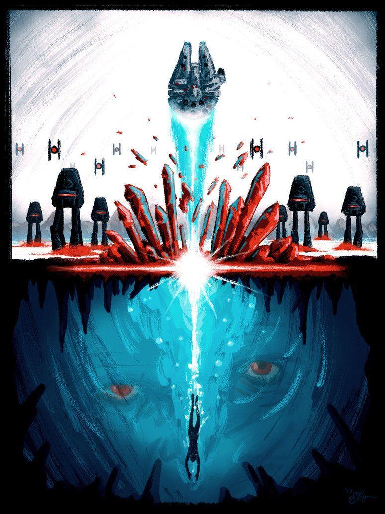 Starwarsepisodes Star Wars Episode Viii The Last Jedi Poster By Mike The Spike Gwiezdne Wojny Art Plakat Obrazy