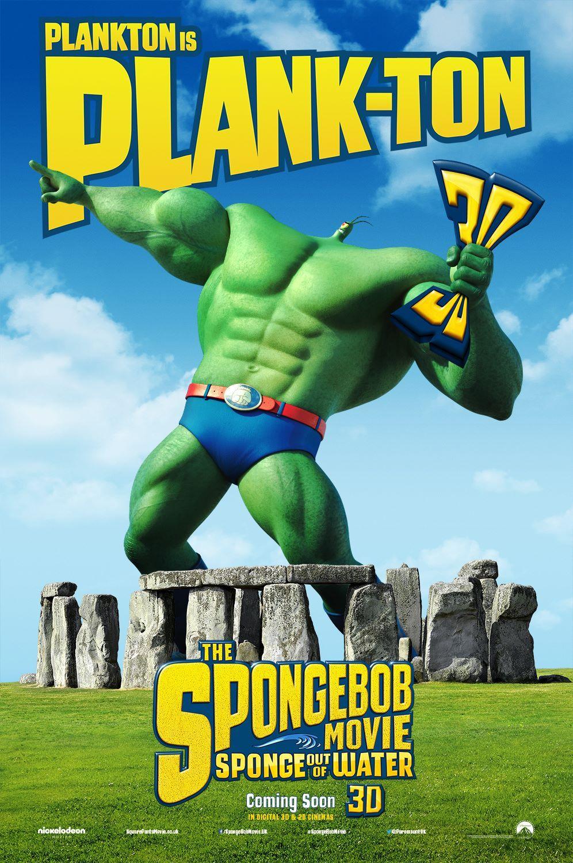 The SpongeBob Movie Sponge Out of Water Plankton (UK