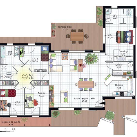 Maison à lu0027architecture bioclimatique Tiny houses, Amazing houses