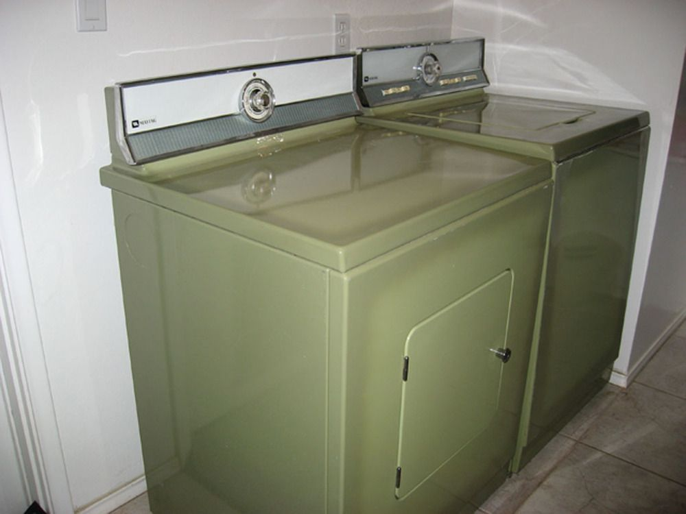 Avocado Green Washer And Dryer Definantly Had These In