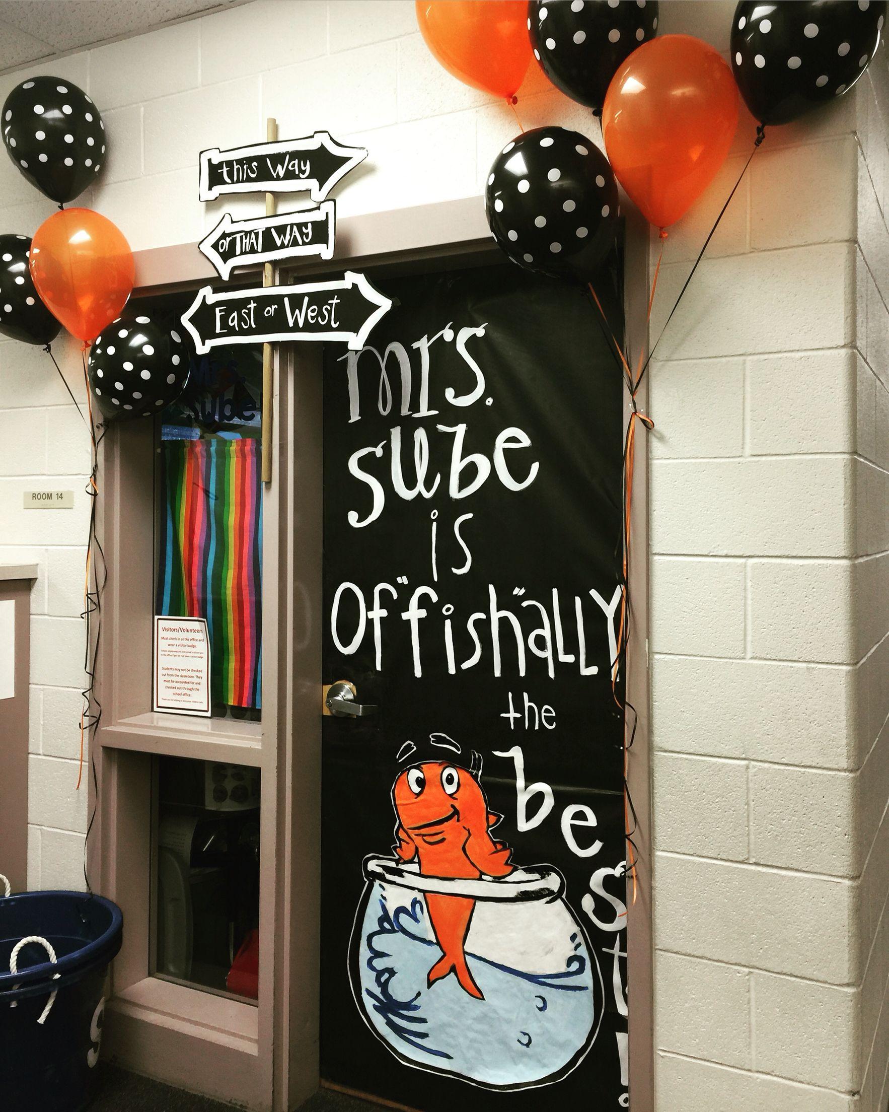 Dr Seuss Door For Teacher Appreciation Week Teacher