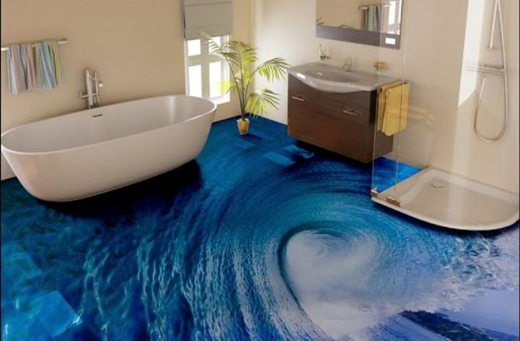 Resultats De Recherche D Images Pour Epoxy 3d Floor Epoxy Floor Designs Epoxy Floor 3d Bathroom Design