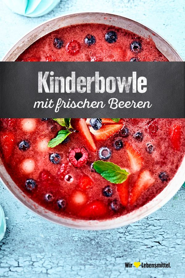 Kinderbowle #nonalcoholicbeverages