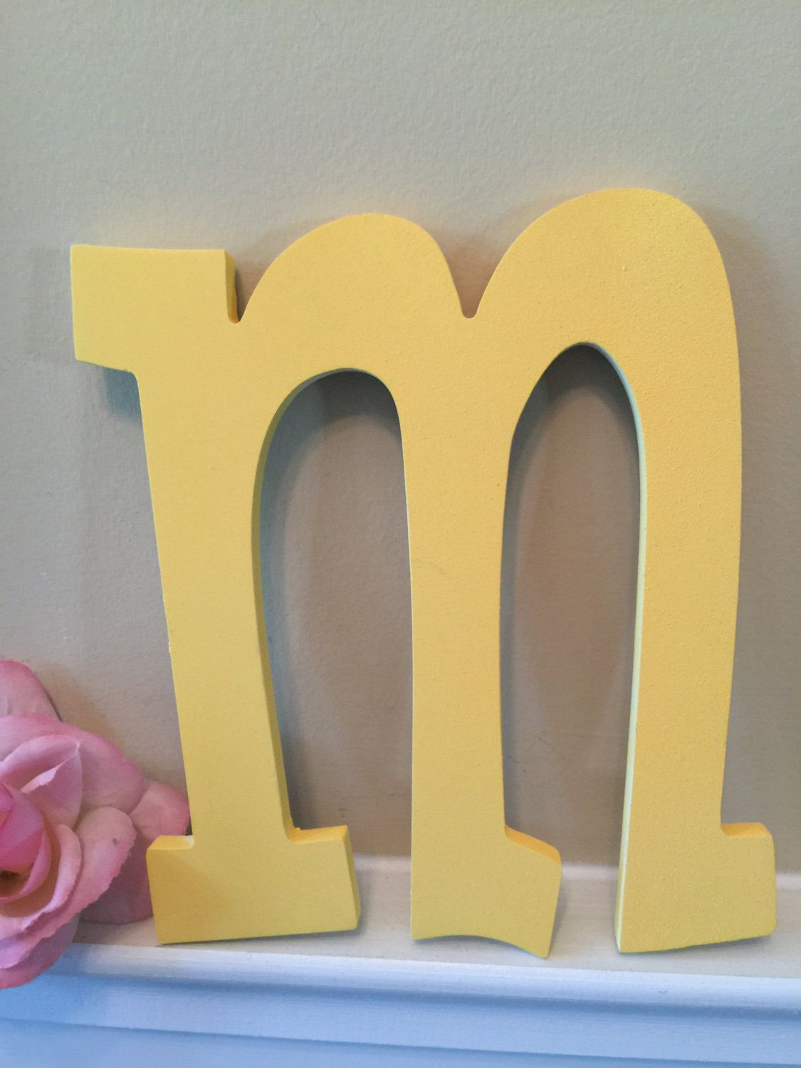 Dorable Initials Wall Decor Collection - Wall Art Collections ...