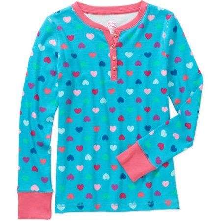 Kids Sizes 4-16 Komar Kids Girls Pink Multi Polka Dot Nightgown