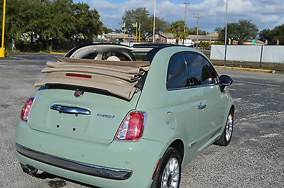 Nice 2012 Fiat 500 C Lounge Convertible 2 Door For Sale 2012 Fiat 500 Fiat Cars Fiat 500c