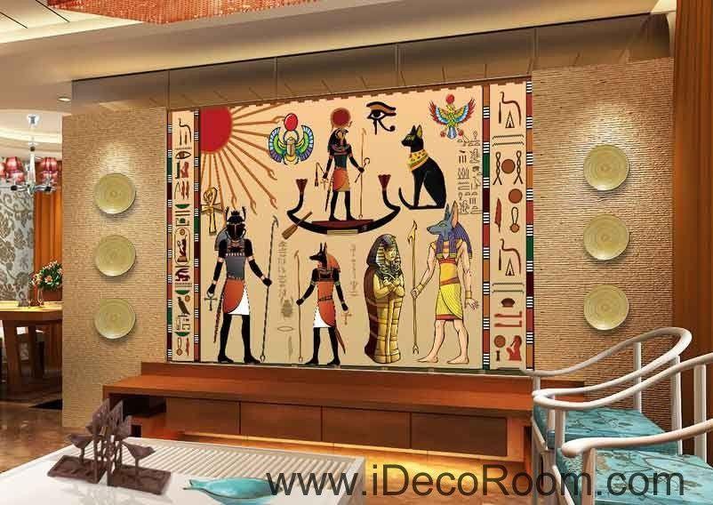 Egypt Ancient Egyptian Business Office Decor IDCWP EG 011 Wallpaper Wall  Decals Wall Art