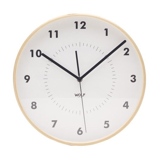 Shop AllModern for WOLF 12 Round Wall Clock by WOLF - Great Deals on all  products with the best selection to choose from!