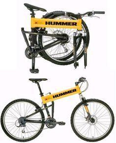 Hummer Folding Bike Cool I Want One Bike Hummer Folding Bike