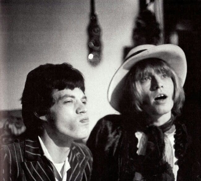 Mick & Brian by Michael Cooper