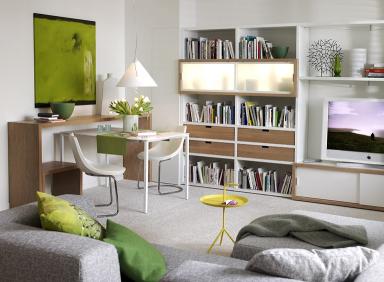 Praktische Möbel Für Kleine Räume: Kombiniertes Ess- Und ... Wohnzimmer Kleine Raume