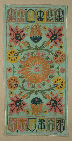 e-8862. Suzani Cushion or Hanging Tashkent, Uzbekistan Contemporary