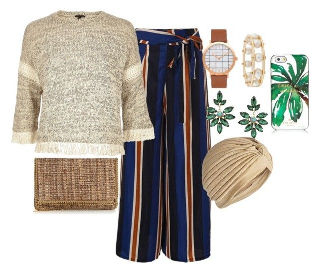 """""""LUNCH TIME DETROIT"""" by staydiva on Polyvore featuring moda, River Island, Lele Sadoughi, STELLA McCARTNEY, 1928 y Kate Spade"""