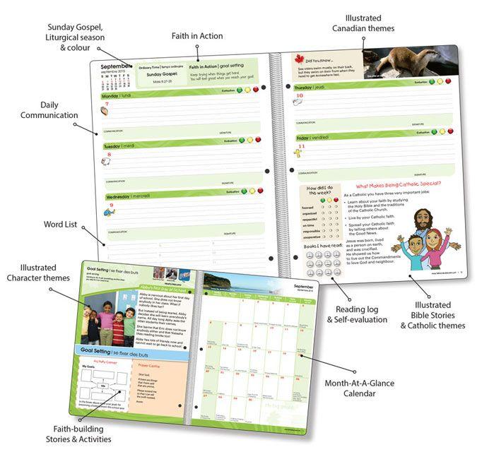 Primary Booklet - Catholic School Planner school Pinterest