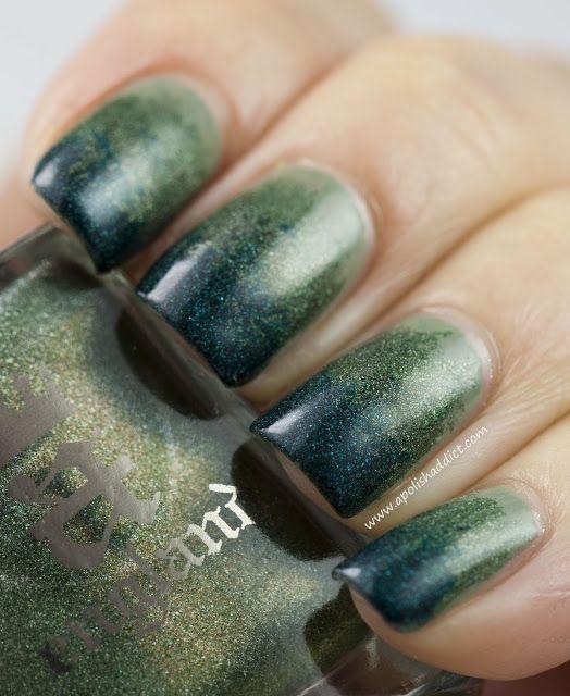 Lujoso Verde Azulado Uñas Esmalte Opi Imágenes - Ideas de Diseño de ...