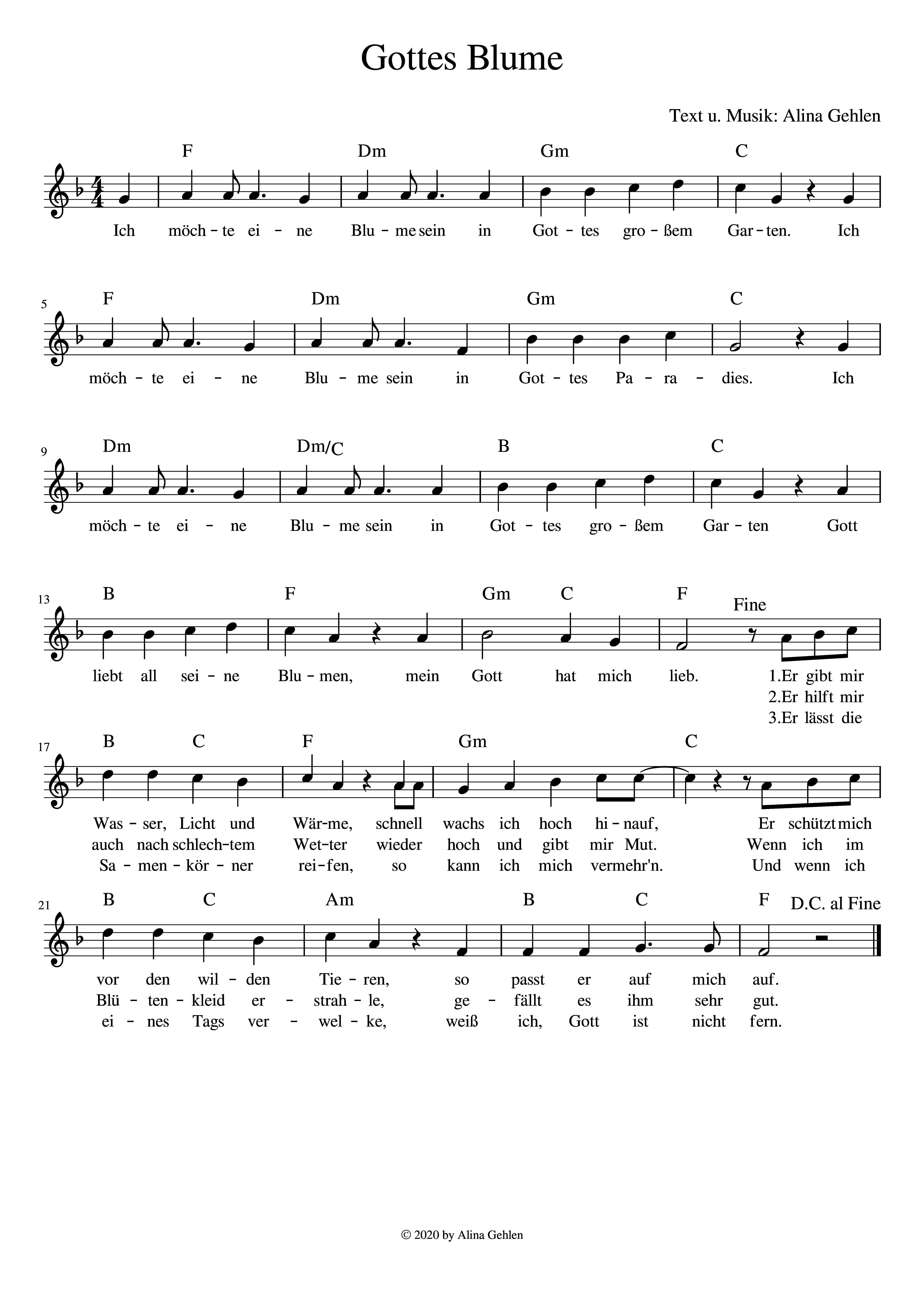Kinderlied Von Gottes Blume Im Paradies Kinder Lied Kinderlieder Lied