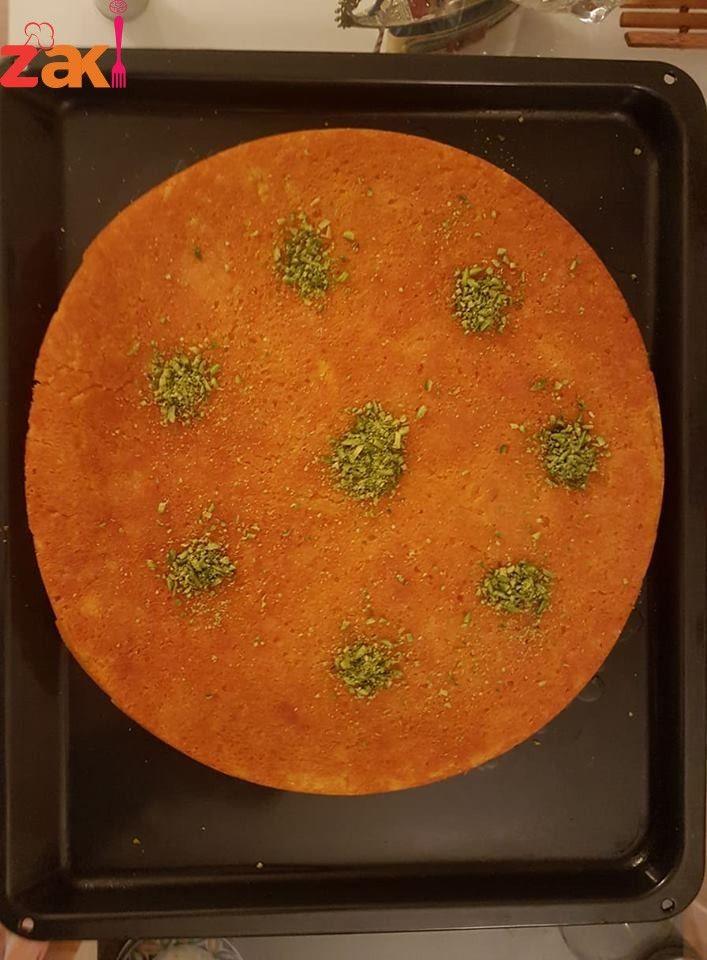 طريقة الكنافة بالسميد الناعم Cooking Recipes Mediterranean Recipes Middle Eastern Recipes