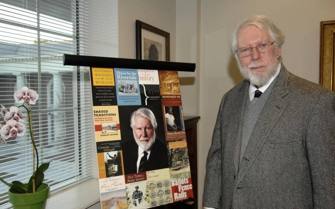 South Carolina historian Charles Joyner dies at 81