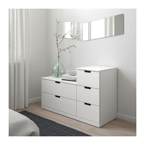 "NORDLI 5-drawer Chest - Anthracite 47 1/4x29 7/8 """