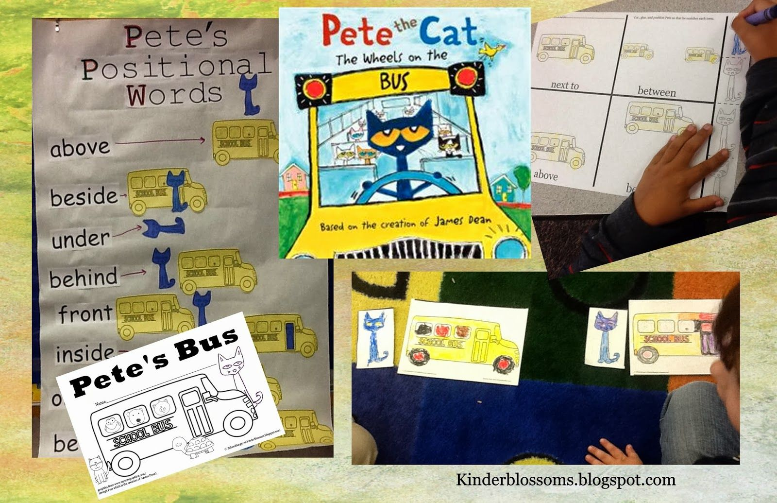 Christina S Kinder Blossoms Positional Words With Pete