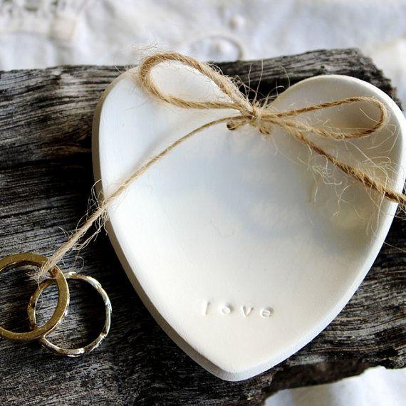 a perfect gift for mum keepsake jewellery dish Heart shaped ring dish trinket handmade