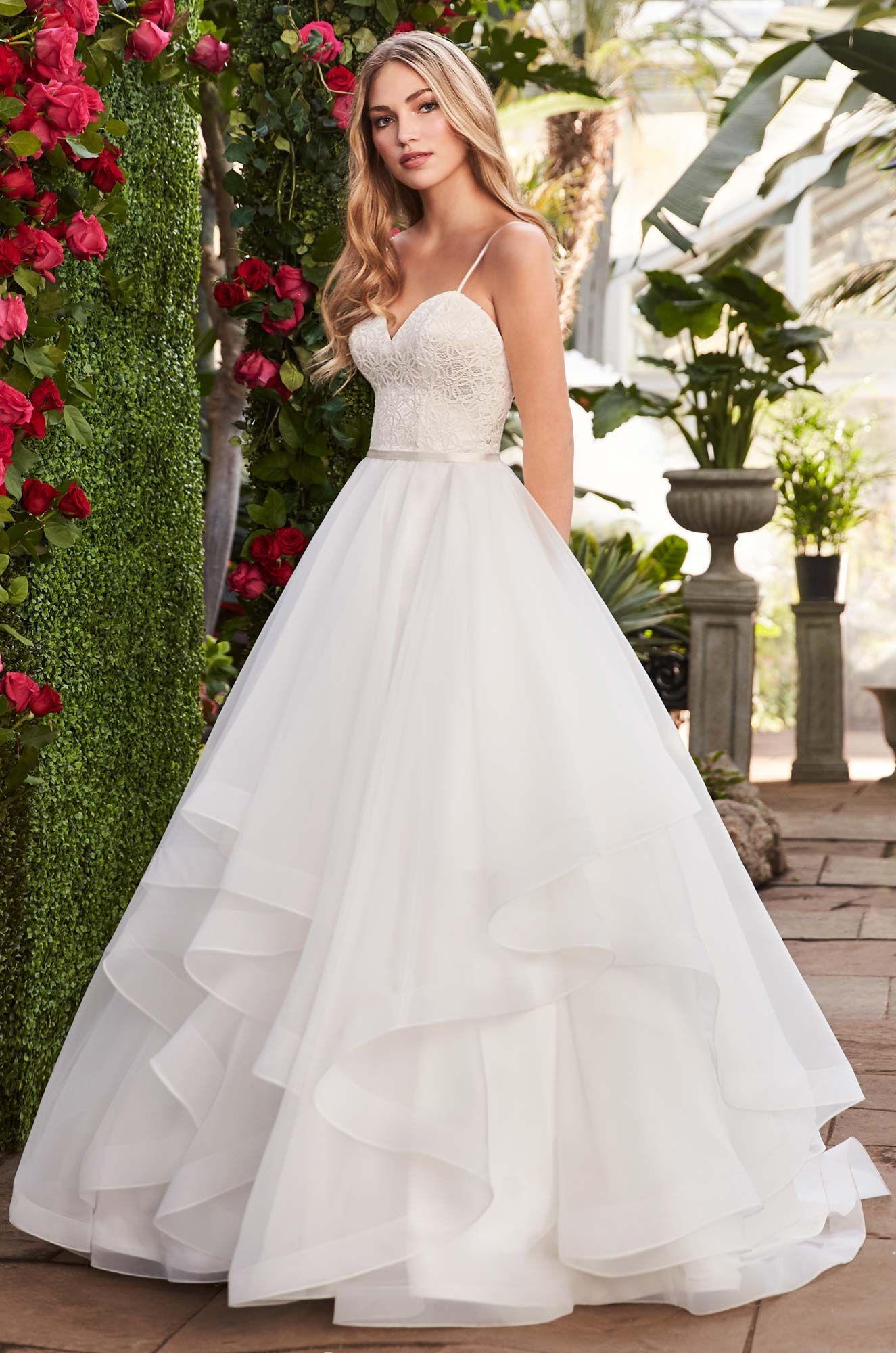 Layered Organza Wedding Dress Style 2270 Mikaella Bridal Wedding Dress Organza Mikaella Bridal Wedding Dress Couture