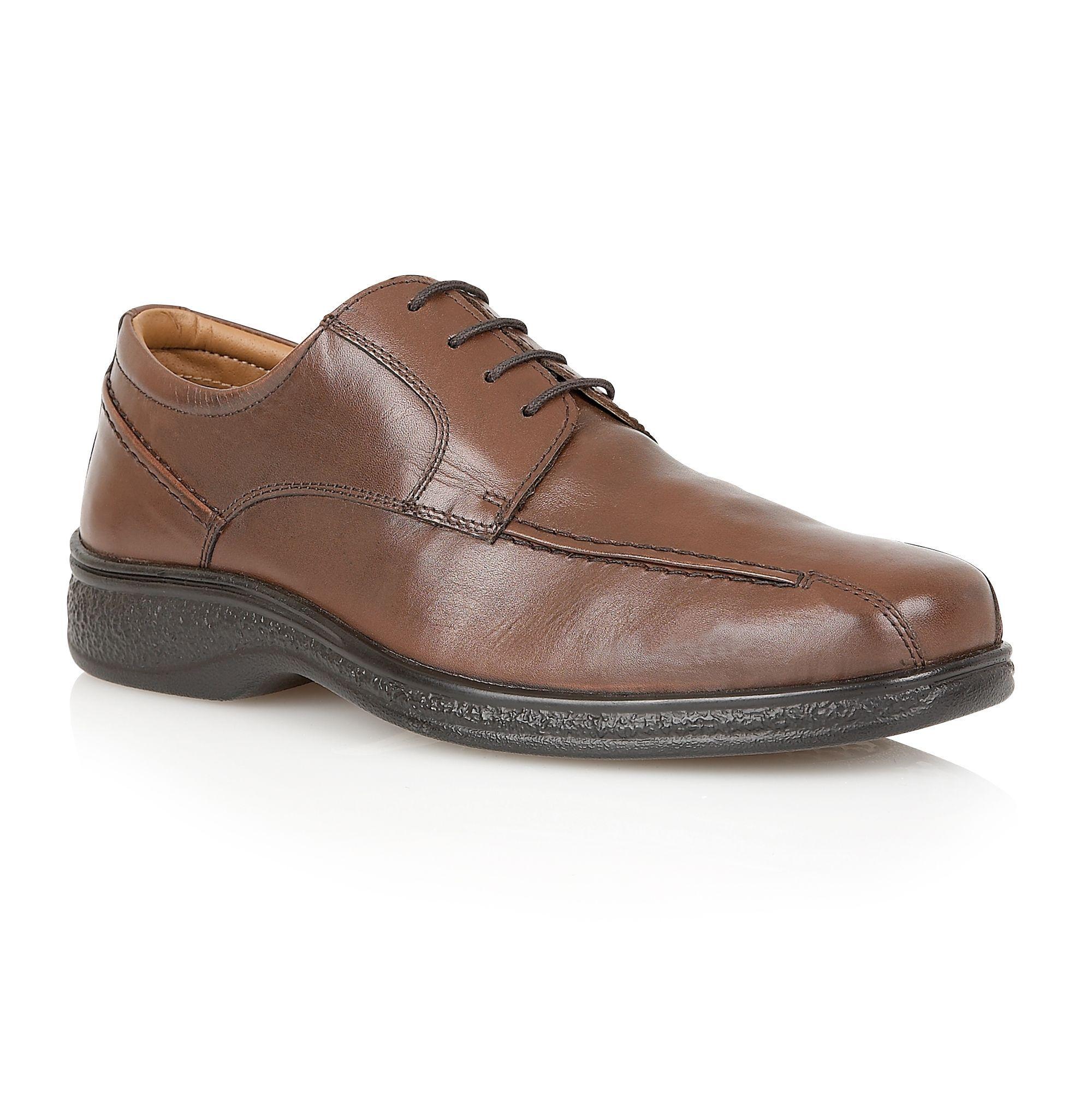 Lotus Since 1759 Morden mens lace up shoes, Brown