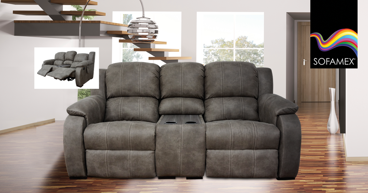sof reclinable elctrico COIMBRA en 2019  Salas con