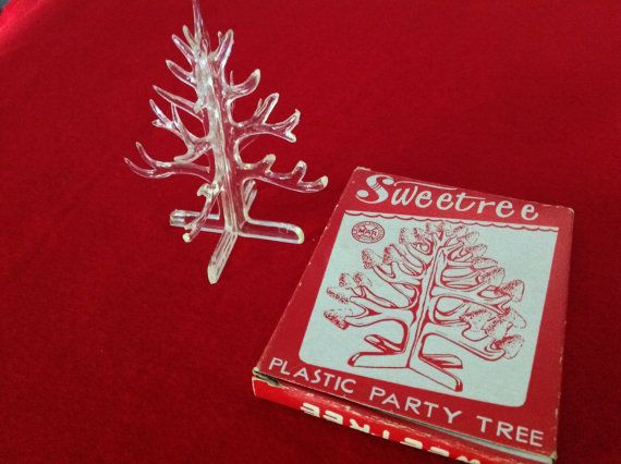 Rare Louis Marx & Co Sweetree Plastic Party Tree by TwoVintageHens
