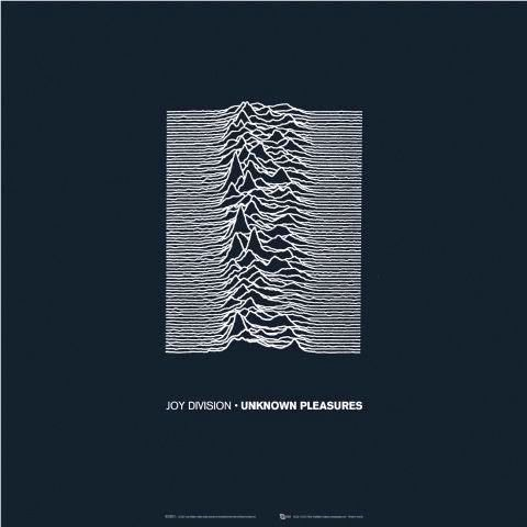 Joy Division album cover by Peter Saville