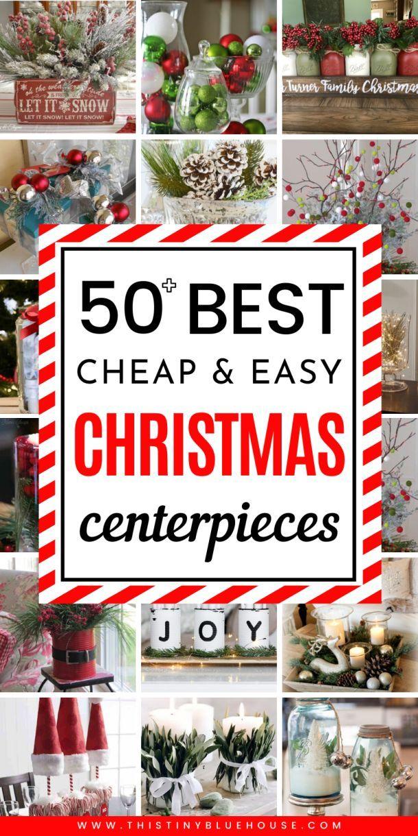 Photo of 50+ Best Festive DIY Christmas Centerpieces