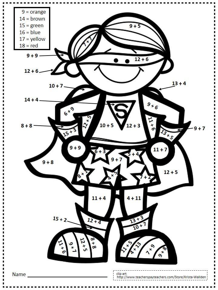 Sample Page From 2 Oa B 2 22 Common Core Printables Aligned To 2 Oa B 2 Go Math Superhero Theme Superhero Classroom Theme