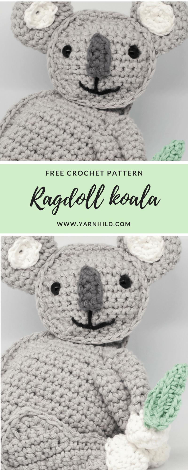 Finn the Koala — | Häkeln, Amigurumi und Babyspielzeug
