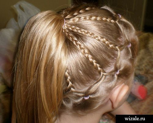 Pin By Оксана On прически Pinterest Hair Style Kid Hairstyles - Bun hairstyle games