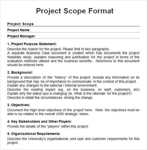 Use project objectives to structure the project and validate success