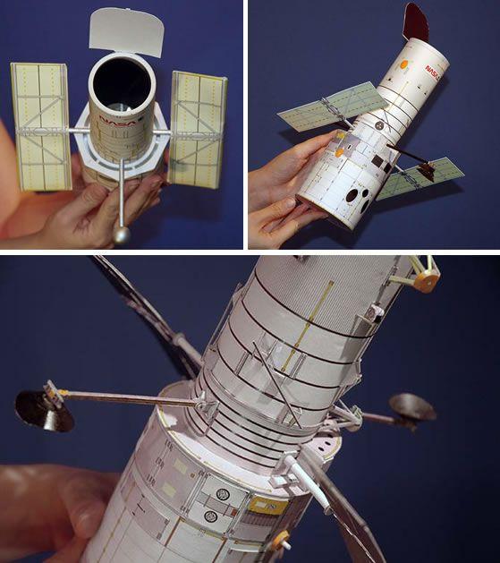 HowTo Build a model Hubble Space Telescope Pedro